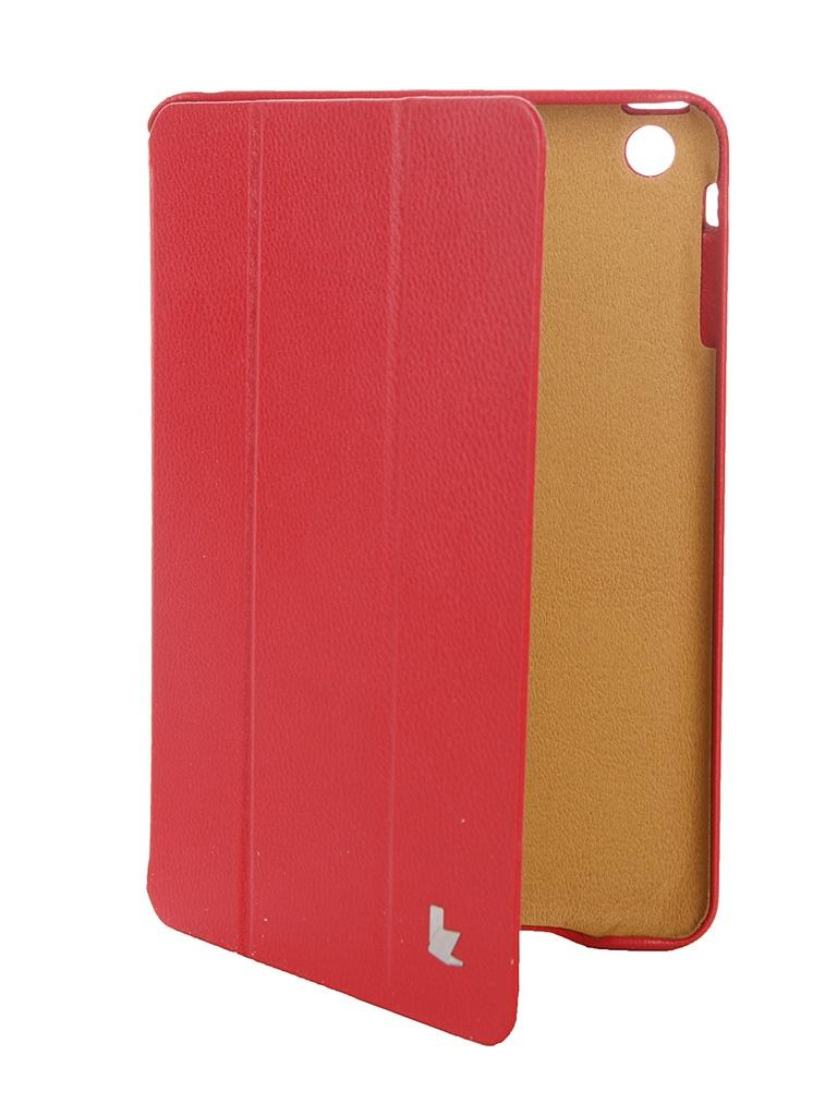 Аксессуар Чехол Jison Case Premium для APPLE iPad mini 2 Retina Red JS-IM2-01H<br>