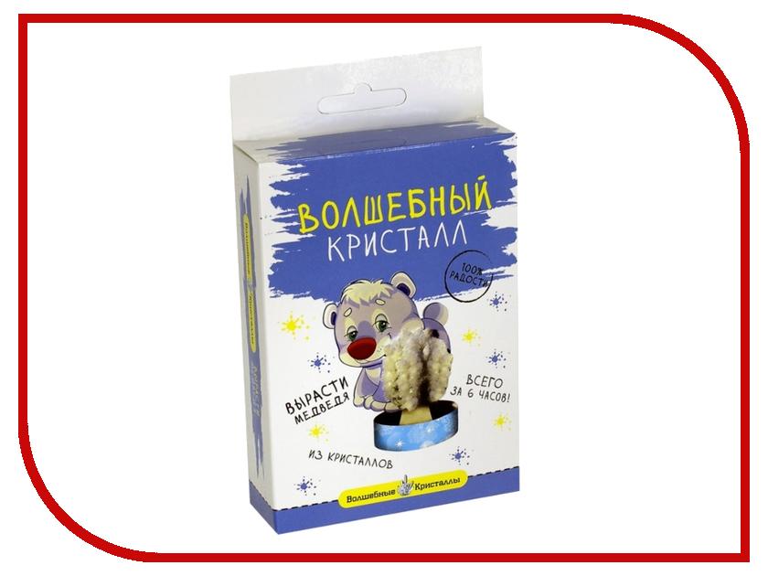 Набор для выращивания кристаллов Bumbaram Мишка белый CD-127