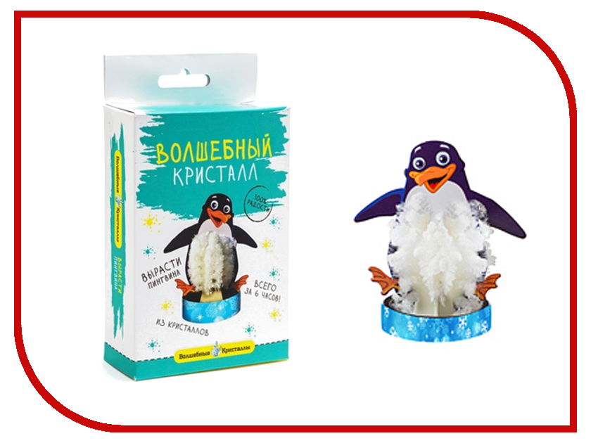 Набор для выращивания кристаллов Bumbaram Пингвин CD-125