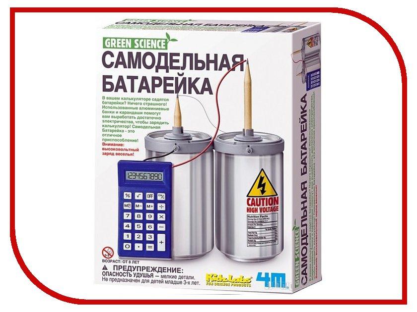 Игрушка Конструктор 4M Самодельная батарейка 00-03360<br>