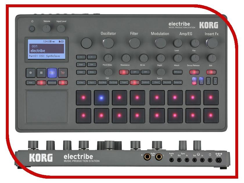 MIDI-контроллер KORG ELECTRIBE2<br>