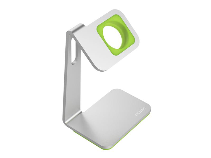 Аксессуар ROCK Table Stand для APPLE Watch ROT0710 Silver-Green