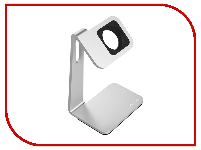 Аксессуар ROCK Table Stand для APPLE Watch ROT0710 Silver-Black<br>