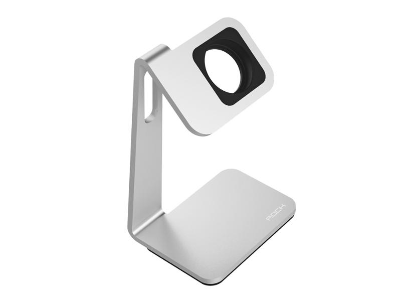 Аксессуар ROCK Table Stand для APPLE Watch ROT0710 Silver-Black