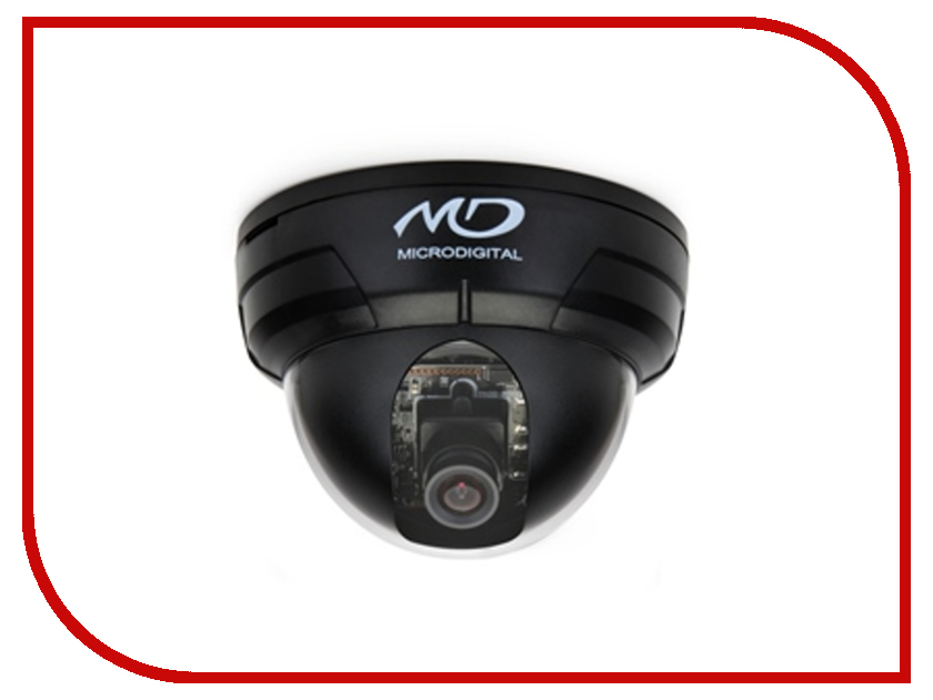 AHD камера MicroDigital MDC-AH7260FDN Black<br>