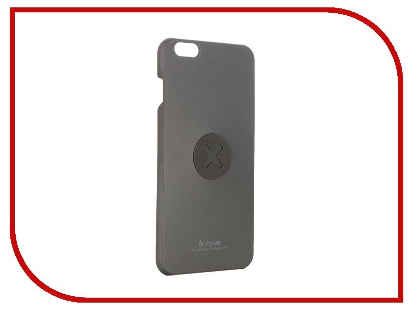 Аксессуар Чехол-накладка iHave X-series Magnetic для iPhone 6 Plus iz0103 Grey