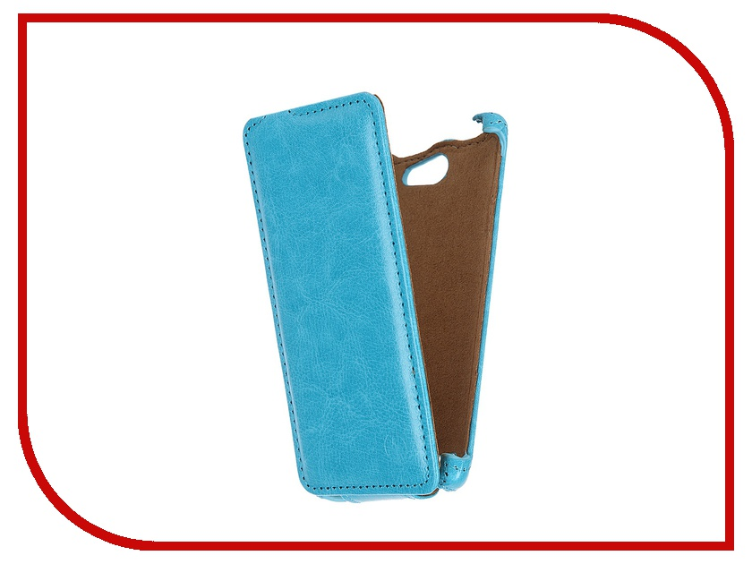 Аксессуар Чехол-флип Philips S309 Pulsar Shellcase Light Blue PSC0798
