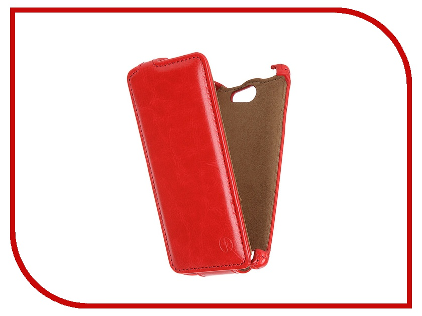 Аксессуар Чехол-флип Philips S309 Pulsar Shellcase Red PSC0796<br>