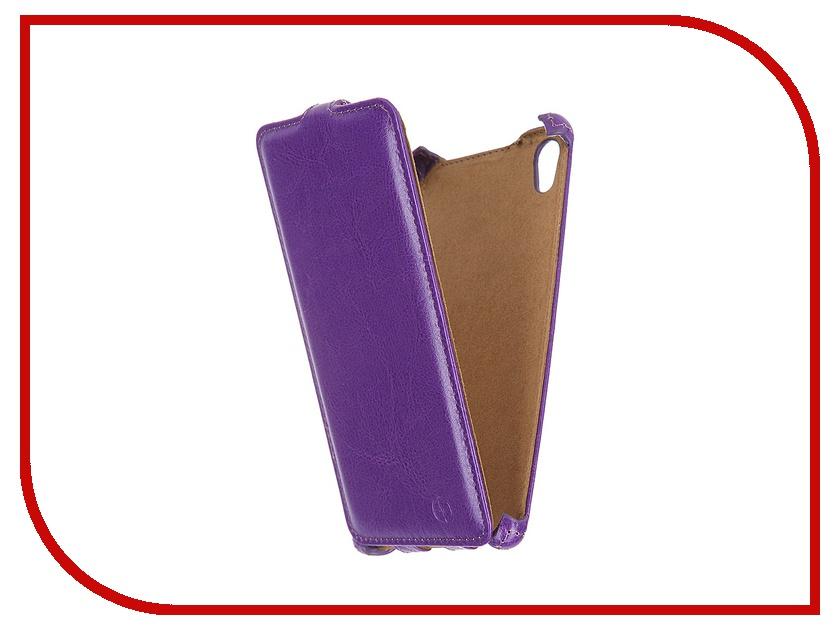 Аксессуар Чехол-флип Sony Xperia Z5 Premium Pulsar Shellcase Purple PSC0804<br>