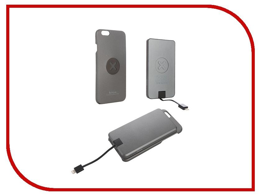 Аксессуар Чехол iHave X-series Magnetic Smart для iPhone 6 Plus iz0150 + Power Bank 5000 mAh Grey