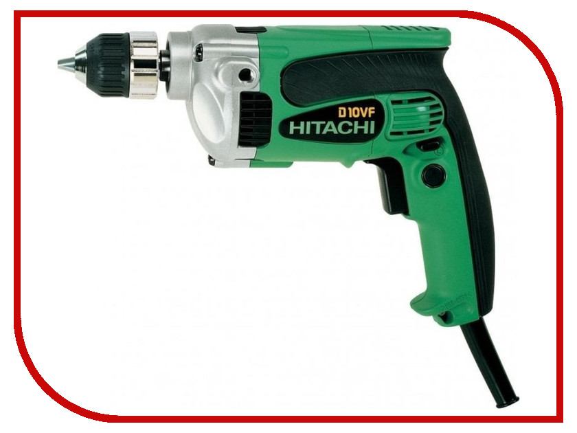 Электроинструмент Hitachi D10VF электроинструмент hitachi ds18dfl