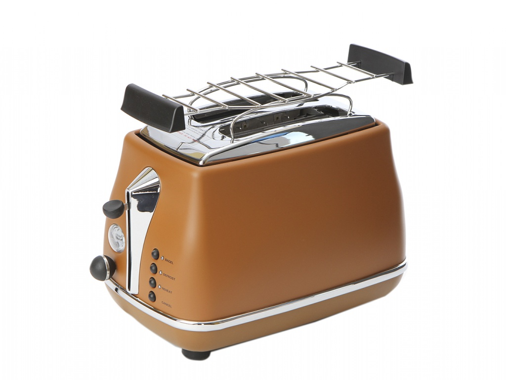 Тостер DeLonghi CTOV 2103.BW Brown