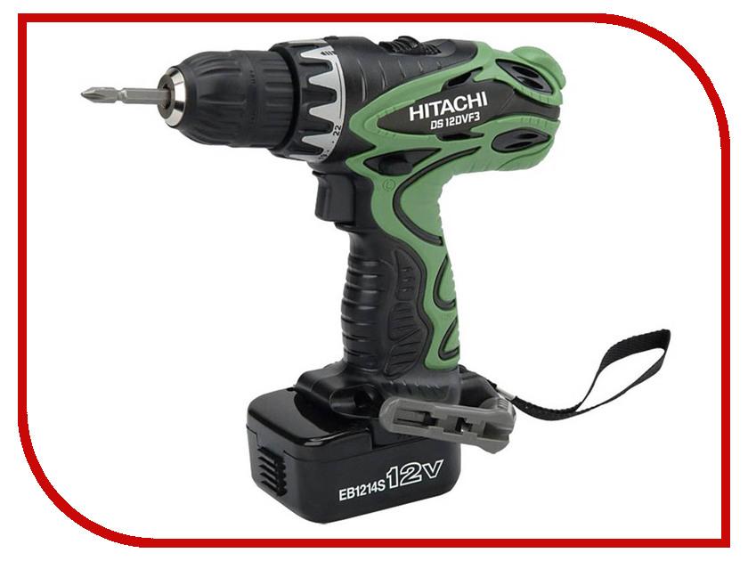 Электроинструмент Hitachi DS12DVF3-TB / RB duracell cef14 4 hour charger 2 x aa1300mah
