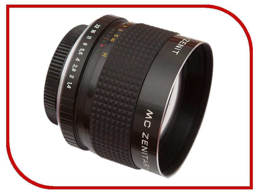 Объектив Зенит МС Зенитар-C Canon 85 mm F/1.4