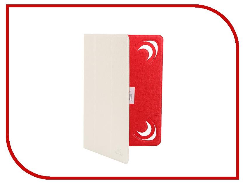 Аксессуар Чехол 7-8-inch RivaCase 3122 White-Red<br>