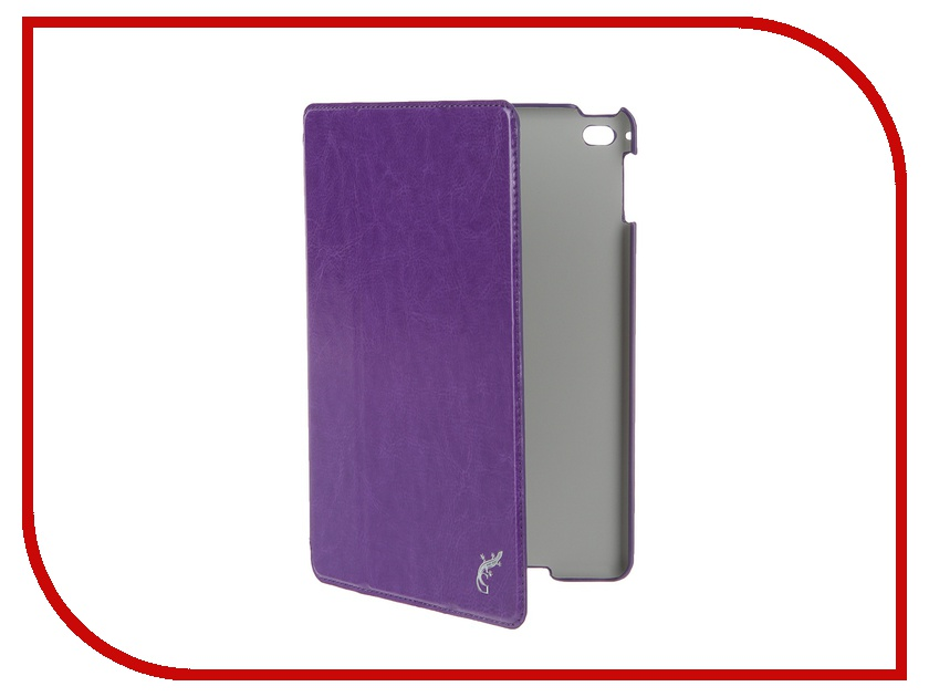 Аксессуар Чехол iPad mini 4 G-Case Slim Premium Purple GG-656 аксессуар чехол apple ipad air 2 g case slim premium black gg 505