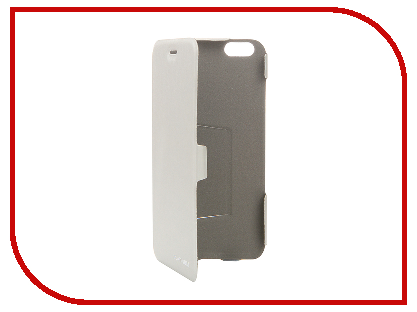 Аксессуар Чехол Platinum для iPhone 6 Ultraslim Light-Silver 4104952