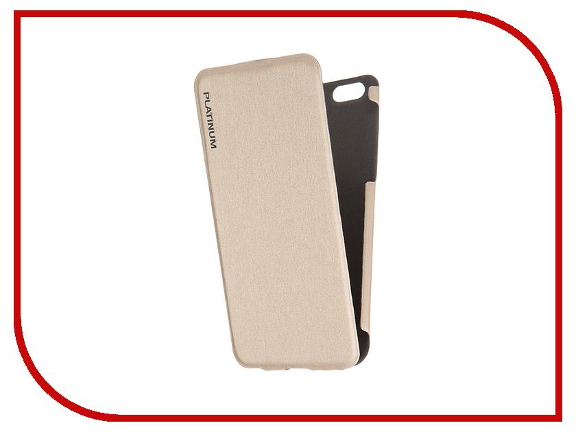 Аксессуар Чехол Platinum для iPhone 6 Ultraslim Light-Gold 4104953<br>