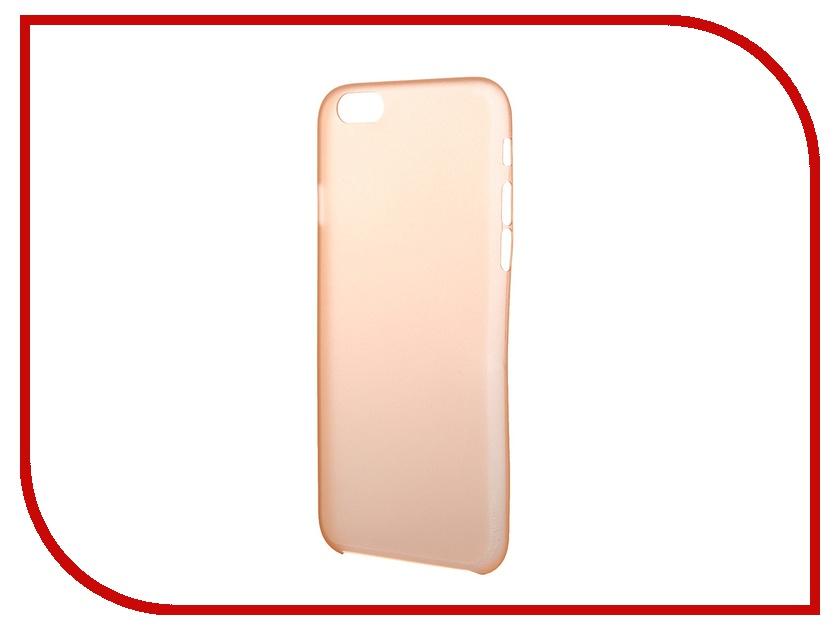 Аксессуар Чехол Platinum для iPhone 6 0.3mm Orange Matte 4103927<br>