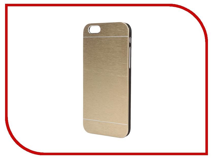 Аксессуар Чехол Platinum для iPhone 6 Hi-Tech Gold<br>