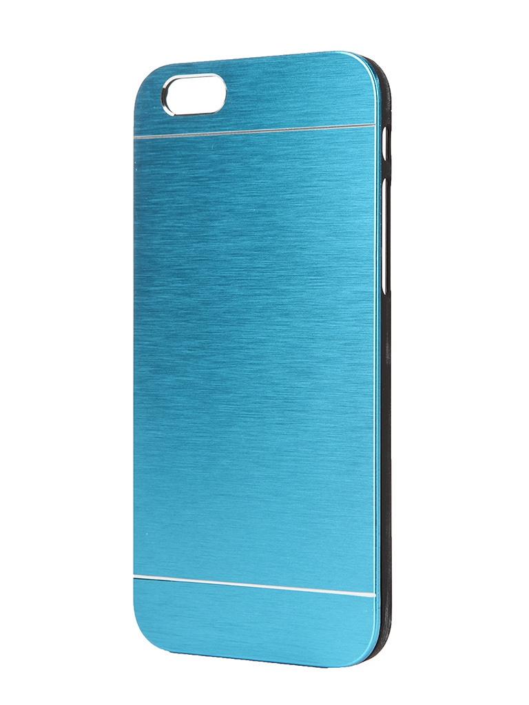 Аксессуар Чехол Platinum для iPhone 6 Hi-Tech Blue<br>