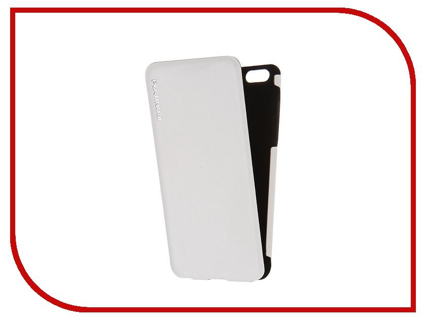 Аксессуар Чехол Platinum для iPhone 6 Ultraslim White<br>