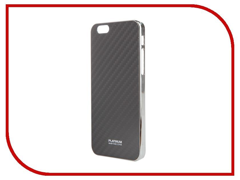 Аксессуар Чехол Platinum для iPhone 6 (4.7) Carbon 3D Black<br>