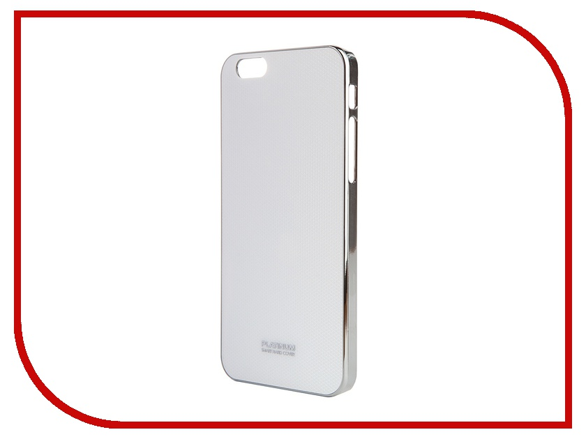 ��������� ����� Platinum ��� iPhone 6 (4.7) Carbon 3D White