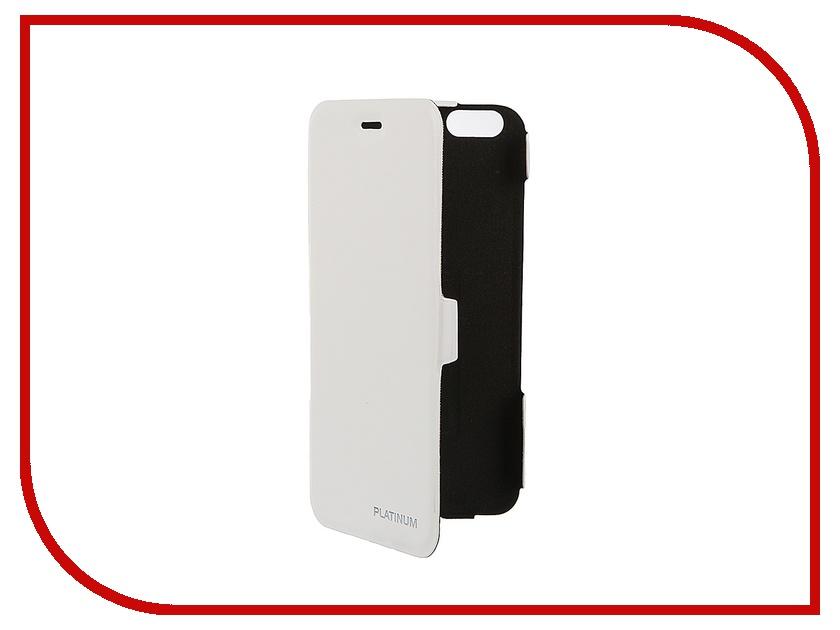Аксессуар Чехол Platinum для iPhone 6 Plus Ultraslim White 4102987<br>