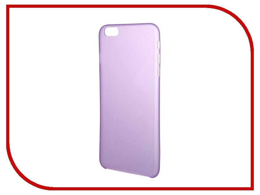 Аксессуар Чехол Platinum для iPhone 6 Plus 0.3mm Lilac Matte 4103947<br>