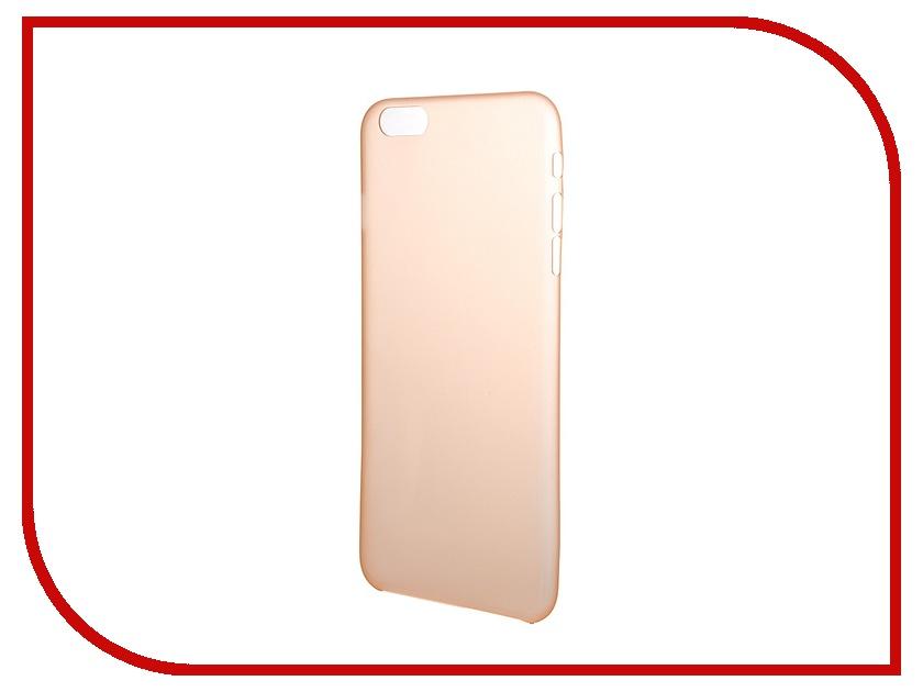 Аксессуар Чехол Platinum для iPhone 6 Plus 0.3mm Orange Matte 4103945<br>
