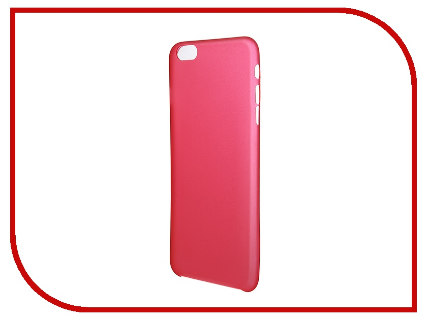 Аксессуар Чехол Platinum для iPhone 6 Plus 0.3mm Red Matte 4103946 pfxge4408wad gc 4408w gc4000 series touch glass panel protective film