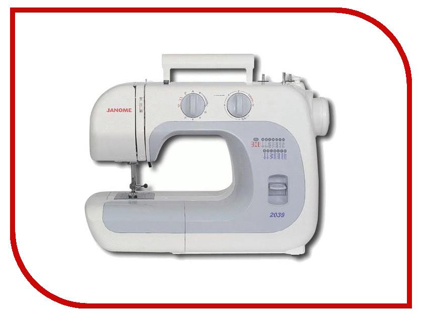 Швейная машинка Janome 2039 швейная машинка janome dc 2030