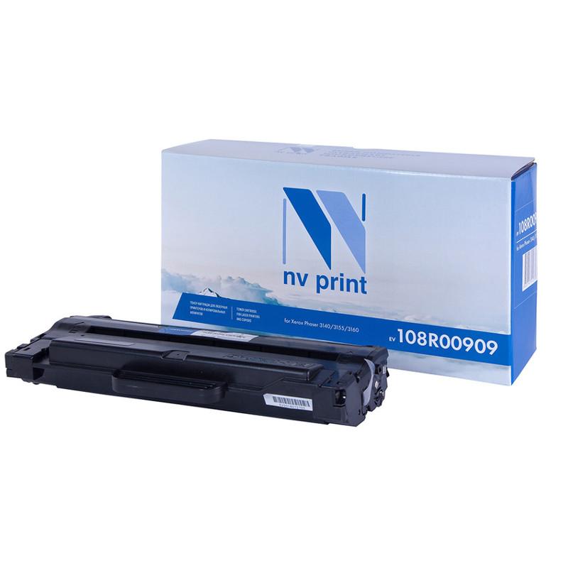 Картридж NV Print Xerox 108R00909 для Phaser 3140/3155/3160 2500k