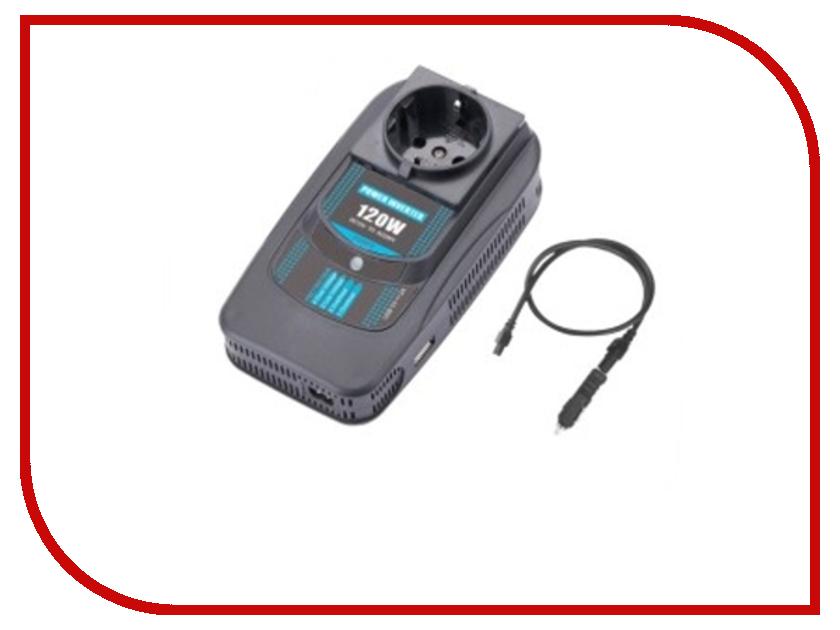 Автоинвертор PowerAce PI120 USB с 12В на 220В автоинвертор intelligent с 24в на 12в 2412 20
