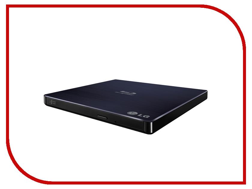 Привод LG BP50NB40 Black внешний привод blu ray lg bp50nb40 usb 2 0 черный retail