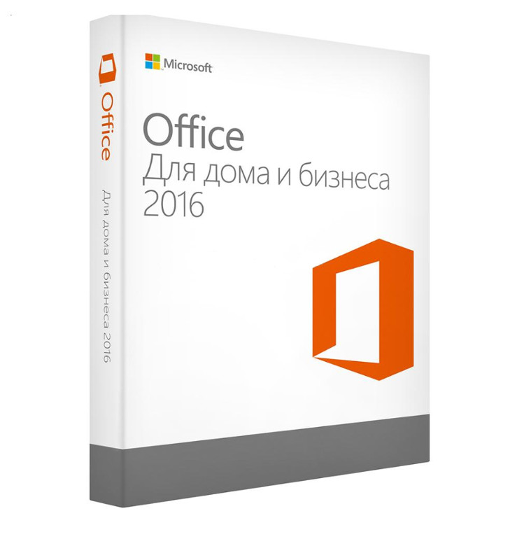 Программное обеспечение Microsoft Office 2016 Home and Business 32/64 Russian Only DVD T5D-02292