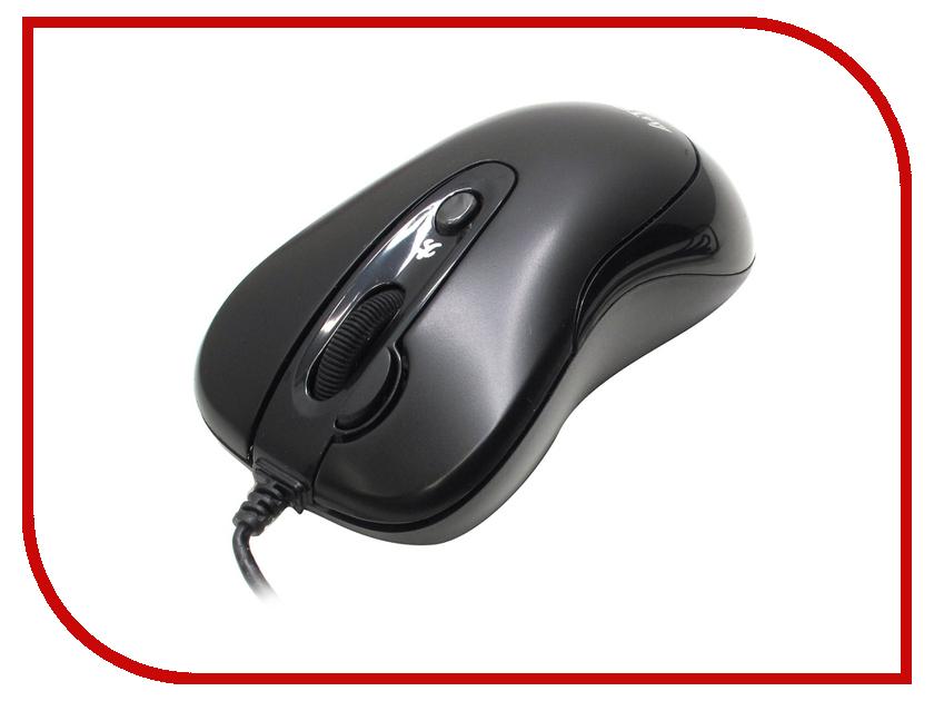 Мышь проводная A4Tech N-61FX-2 Black USB<br>