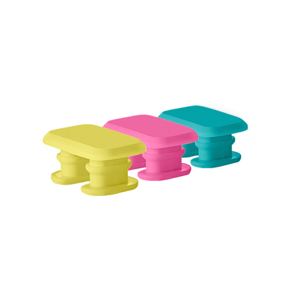Aксессуар Застежка ONETRAK № 2 Yellow/Pink/Teal<br>
