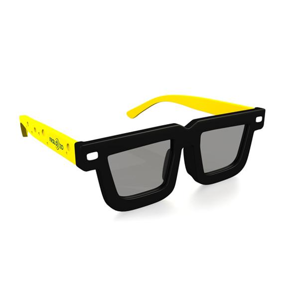 Очки 3D Look3D LK3DSB Black-Yellow от Pleer