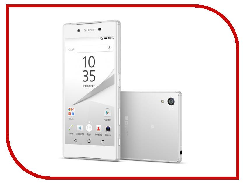Сотовый телефон Sony E6683 Xperia Z5 Dual White<br>
