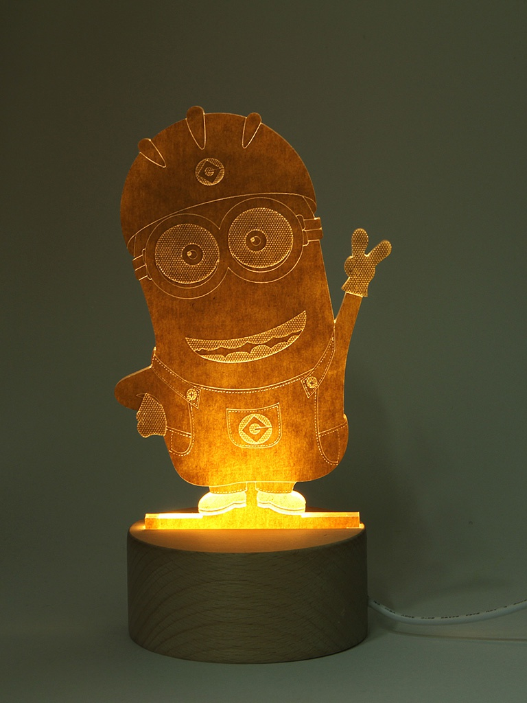 3D лампа OP Миньон WL022-014<br>