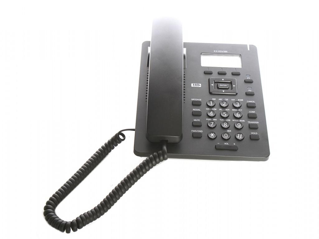 VoIP оборудование Panasonic KX-HDV100 черный