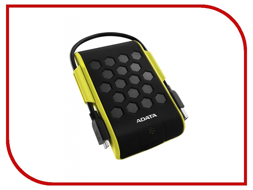 Жесткий диск A-Data DashDrive Durable HD720 1Tb USB 3.0 Green-Yellow AHD720-1TU3-CGR<br>