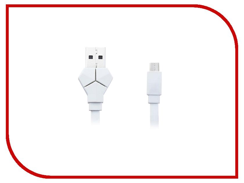 Аксессуар JoyRoom USB - micro USB JR-S500 для HTC/Samsung 150cm White 52495<br>