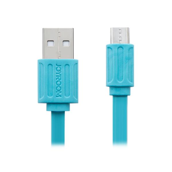 Аксессуар JoyRoom USB - micro USB JR-S103 для HTC/Samsung 100cm Blue 52485