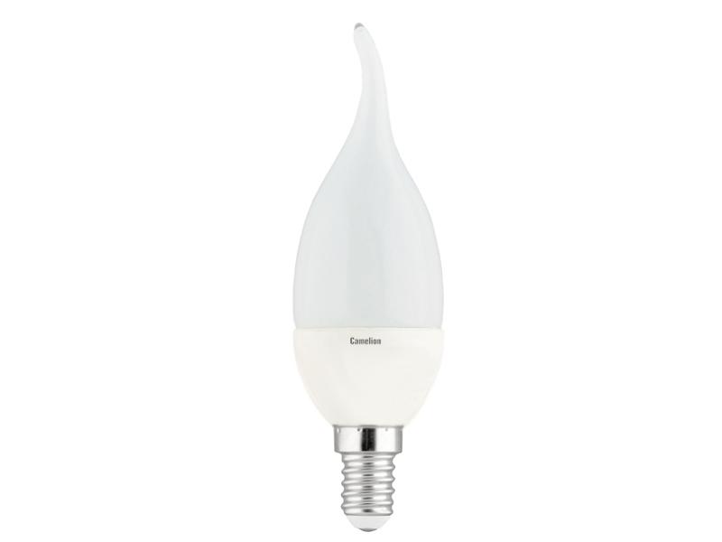 Лампочка Camelion E14 CW35 5W 220V 3000K 390Lm LED5-CW35/830/E14