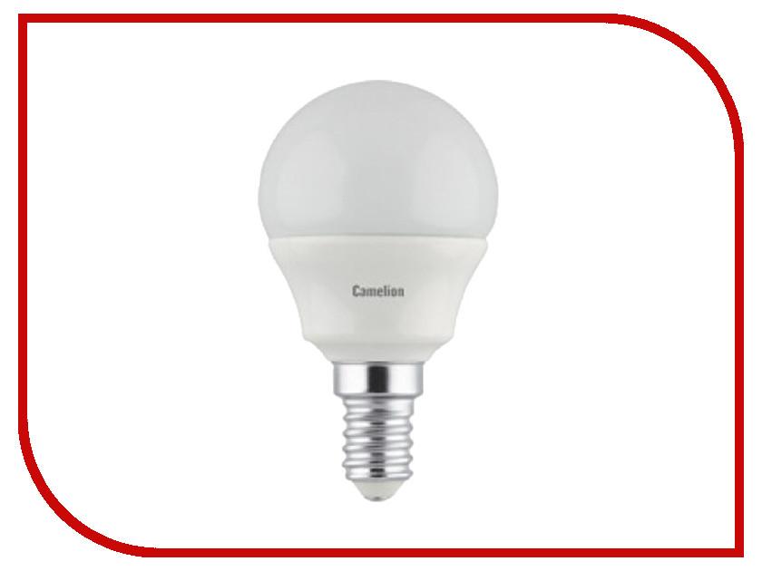 Лампочка Camelion G45 5W 220V E14 3000K 390 Lm LED5-G45/830/E14 лампочка ecola globe led e14 7w g45 220v 4000k k4lv70elc