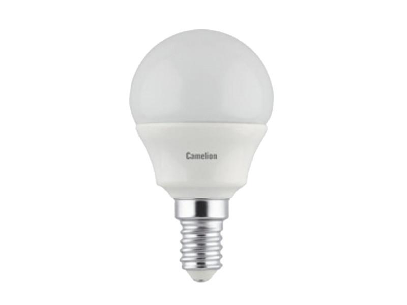 Лампочка Camelion E14 G45 5W 220V 3000K 390Lm LED5-G45/830/E14