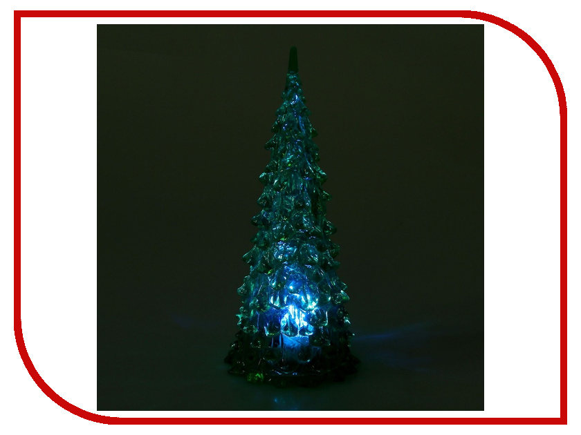 Новогодний сувенир Luazon Елочка Green 1077292 бумбарам волшебные кристаллы синяя елочка